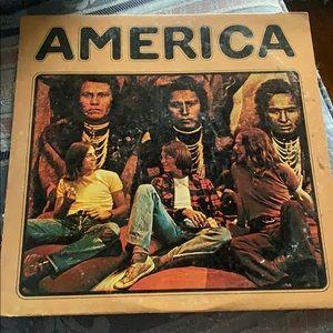 AMERICA by America Vinyl Album